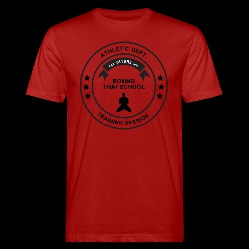 MTS92 BOXING THAI SCHOOL ROND - T-shirt bio Homme