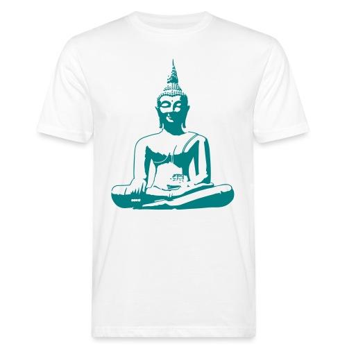 Boeddha beeld - Mannen Bio-T-shirt
