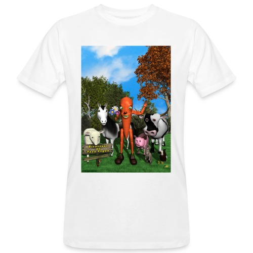 Bienvenue au Pays Vegan - T-shirt bio Homme
