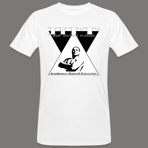 HIT Evidence Based Exercise - Mannen Bio-T-shirt