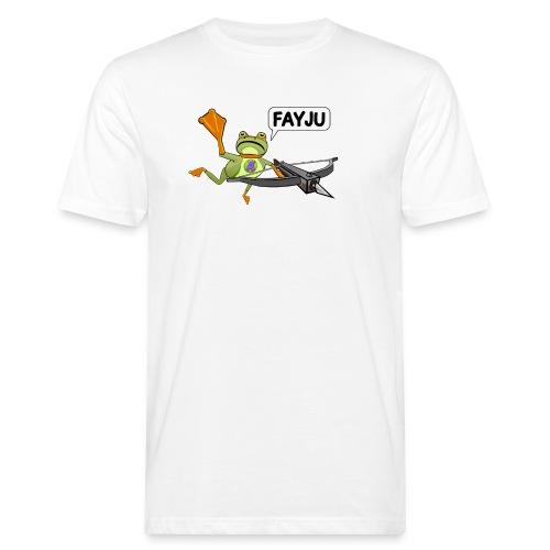Amazing Frog Crossbow - Men's Organic T-Shirt