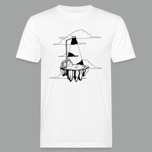 Flying Rock Black png - Männer Bio-T-Shirt