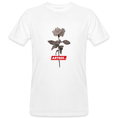 Be ARTEES.DE Rose - Männer Bio-T-Shirt