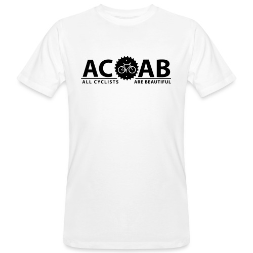 ACAB ALL CYCLISTS - Männer Bio-T-Shirt