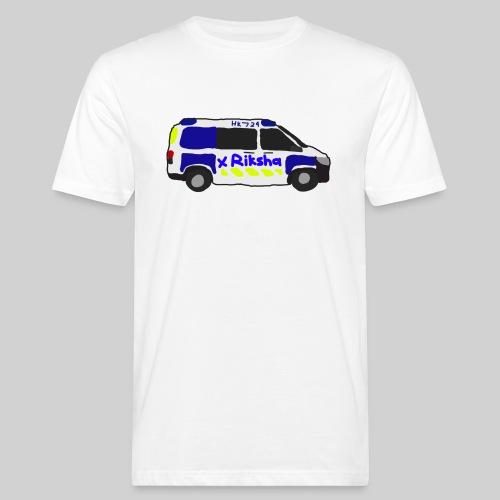 poliisiauto - Miesten luonnonmukainen t-paita