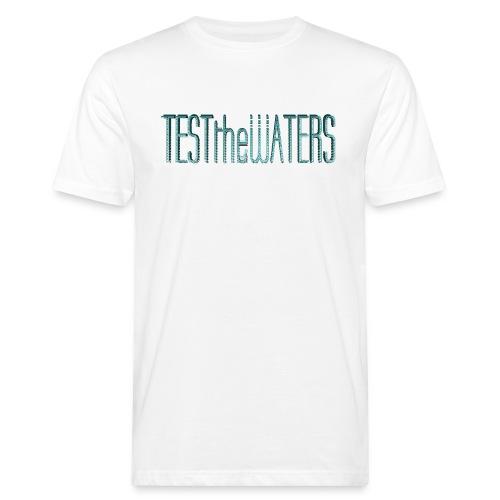 TESTtheWATERS BETA BLUE - Men's Organic T-Shirt