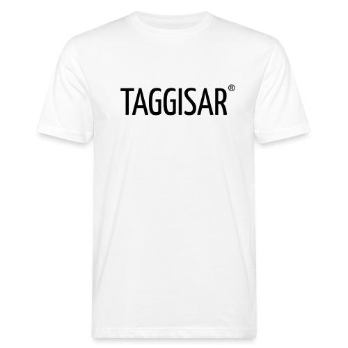 Taggisar Logo Black - Ekologisk T-shirt herr