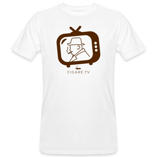 Cigare TV Churchill - T-shirt bio Homme