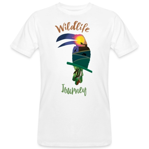 Wildlife Journey - Männer Bio-T-Shirt