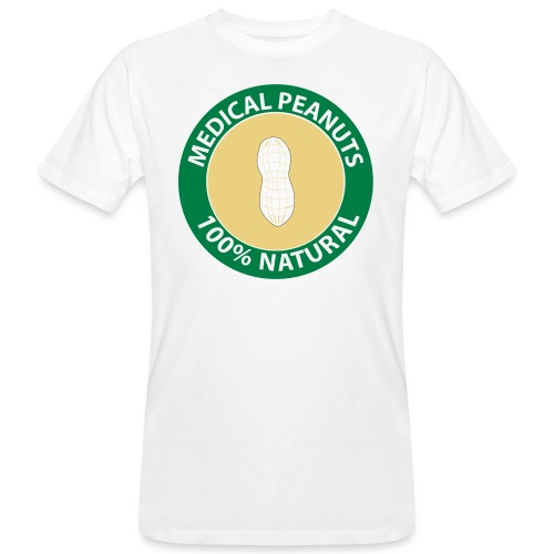 Peanut Attiction - Männer Bio-T-Shirt