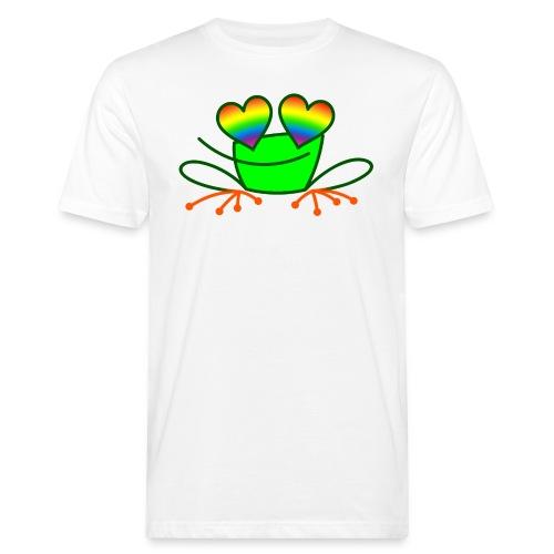 Pride Frog in Love - Men's Organic T-Shirt