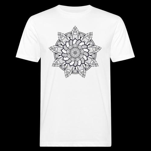 Mandala - T-shirt ecologica da uomo