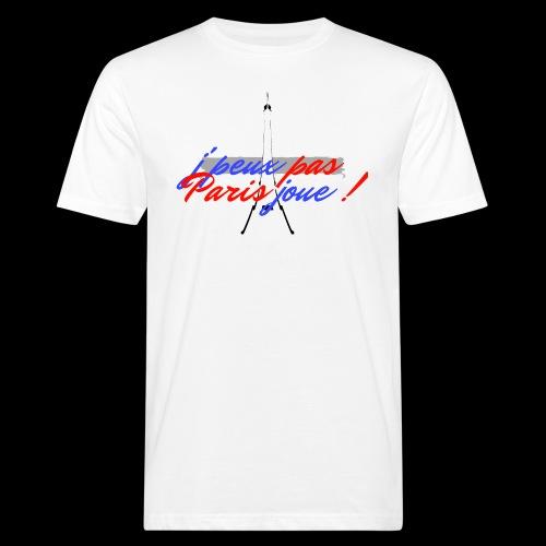 j'peux pas Paris joue - T-shirt bio Homme