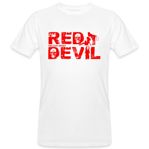 BELGIAN-RED-DEVIL - T-shirt bio Homme