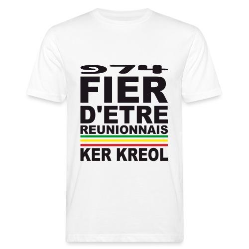 974 ker kreol fier et culture - T-shirt bio Homme
