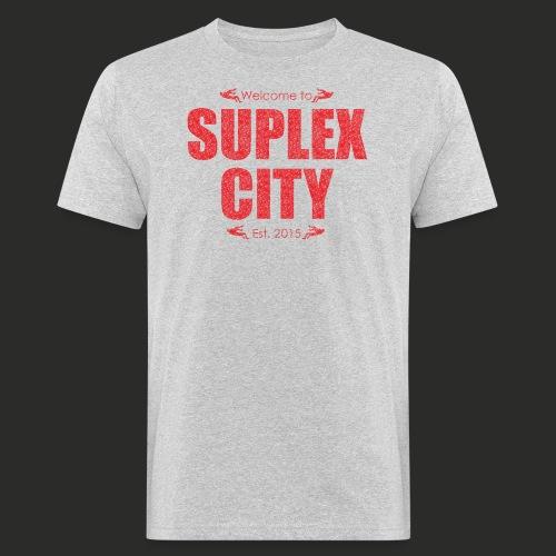 Suplex City Mens T-Shirt - Men's Organic T-Shirt