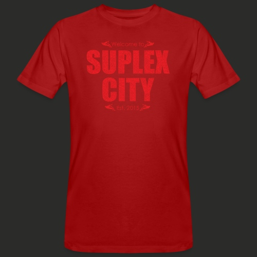 Suplex City Mens T-Shirt - Men's Organic T-Shirt