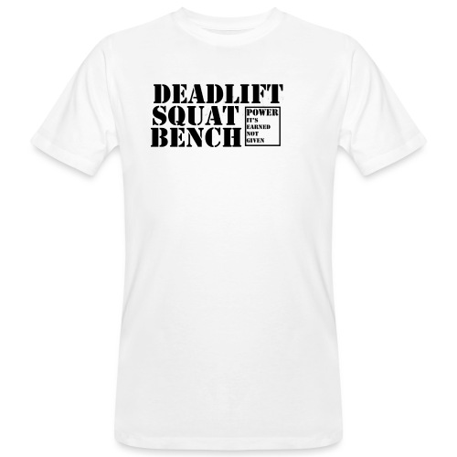 The Big 3 - Men's Organic T-Shirt