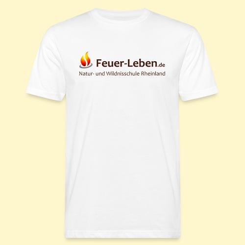 T-Shirt backTeam dunkel - Männer Bio-T-Shirt