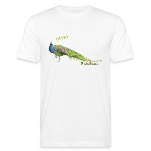 nobelbunt pfow quer - Männer Bio-T-Shirt