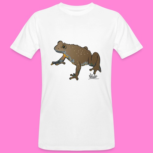 Geelbuikvuurpad - Mannen Bio-T-shirt