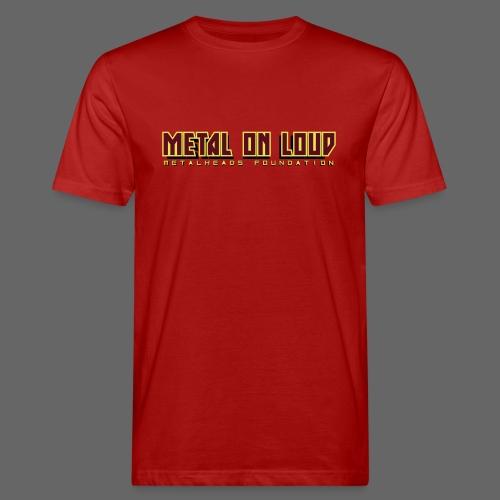 MOL Letter Logo Randy - Men's Organic T-Shirt