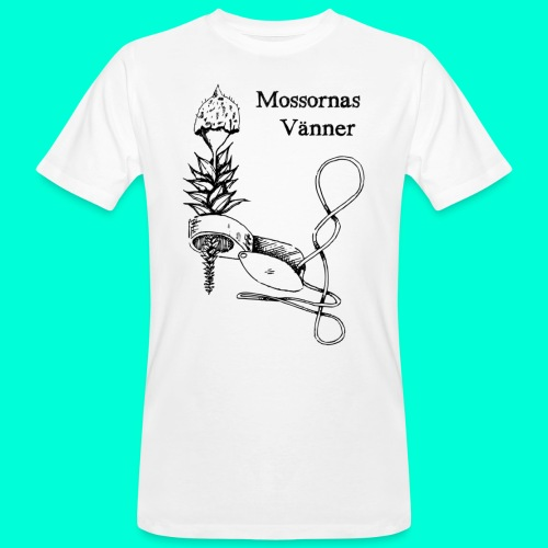 mossvanner - Ekologisk T-shirt herr