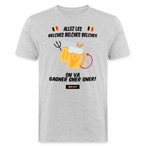 allez belge Par MDR.WTF - T-shirt bio Homme