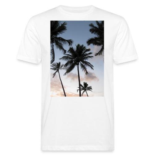 PALMTREES DOMINICAN REP. - Mannen Bio-T-shirt