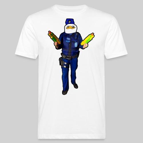 Poliisi-Ankka - Miesten luonnonmukainen t-paita