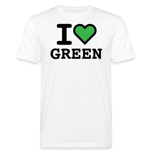 i-love-green-2.png - T-shirt ecologica da uomo