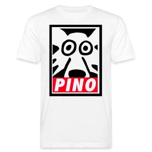 Pino Volpino OBEY style - T-shirt ecologica da uomo