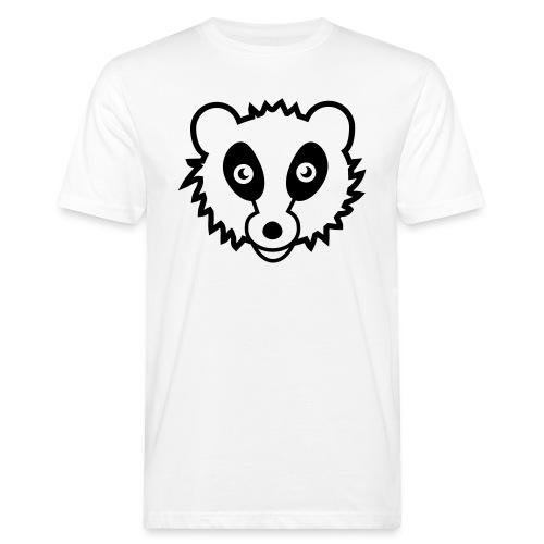 Waschbär - Männer Bio-T-Shirt
