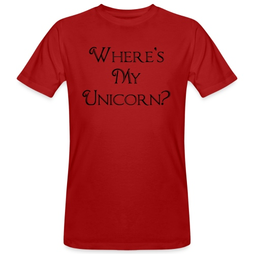 Where's My Unicorn - Men's Organic T-Shirt