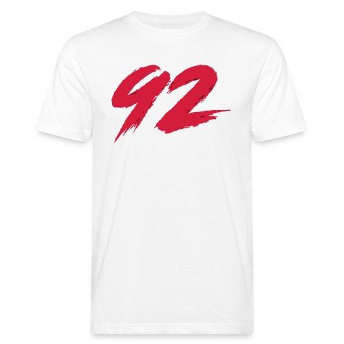 92 Logo 1 - Männer Bio-T-Shirt