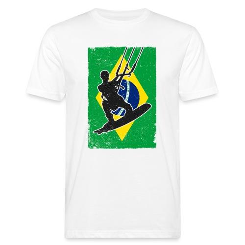 Kitesurfen - Brasilien - Männer Bio-T-Shirt