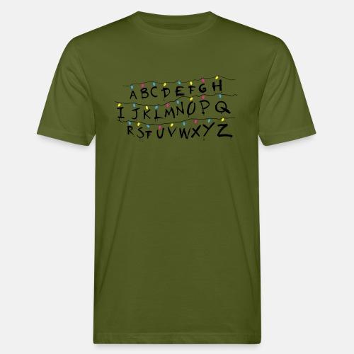 Stranger Things Alphabet Women's T-Shirts - Men's Organic T-Shirt