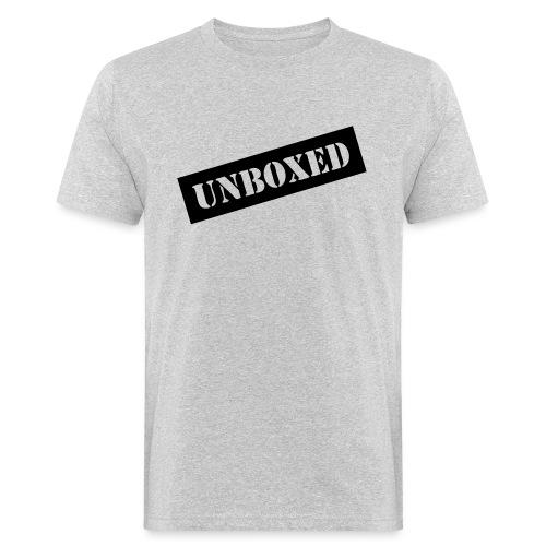 Get UNBOXED now!! by Brilliant Voices - Männer Bio-T-Shirt