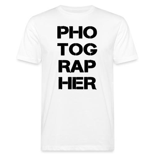 PHOTOGRAPHER - T-shirt bio Homme