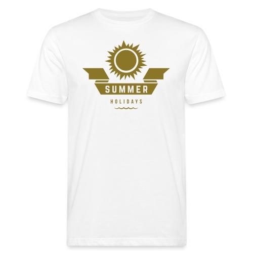 Summer holidays - Miesten luonnonmukainen t-paita