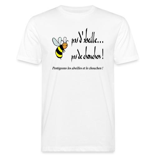 Pas d'abeille, pas de chouchen - T-shirt bio Homme