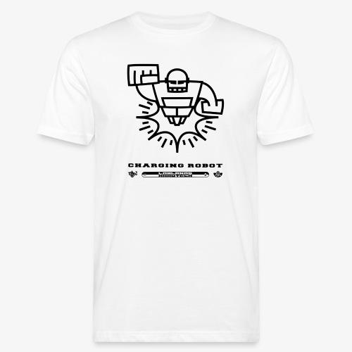 Charging Robot - TINK! Records - Men's Organic T-Shirt