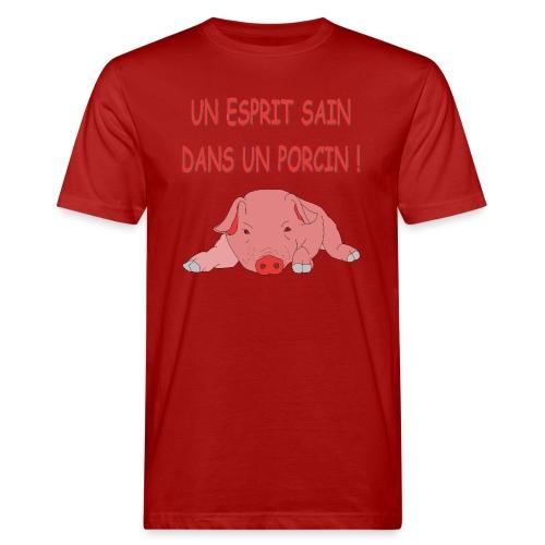 Porcitive Attitude - T-shirt bio Homme