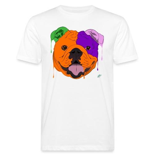 Bulldog - T-shirt ecologica da uomo