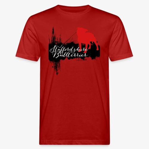 Staffordshire Bullterrier - Männer Bio-T-Shirt