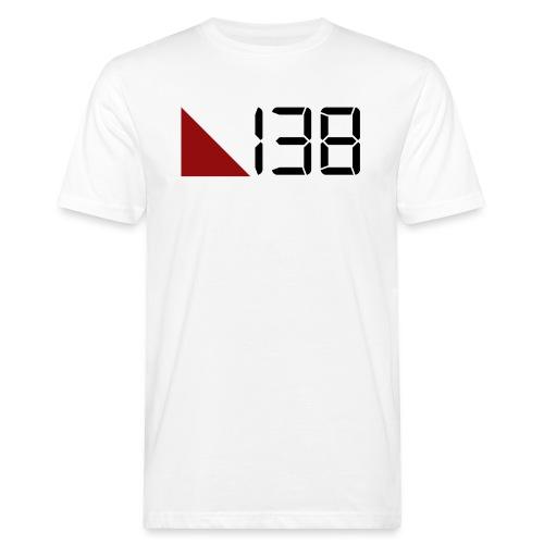 138 (Black) - Ekologisk T-shirt herr