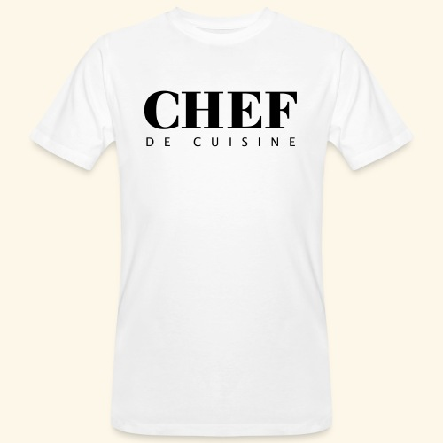 BOSS de cuisine - logotype - Men's Organic T-Shirt