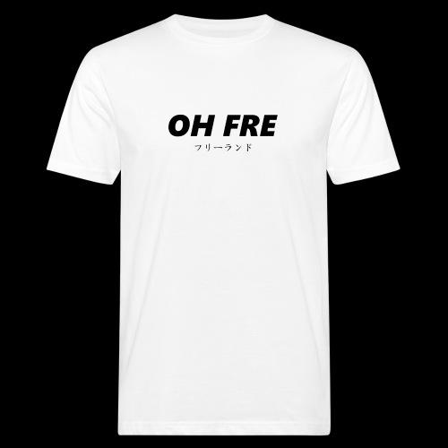 Oh fre black - T-shirt ecologica da uomo