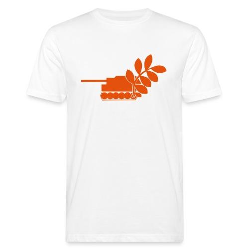 Global Campaign on Military Spending Logo v2 - Men's Organic T-Shirt