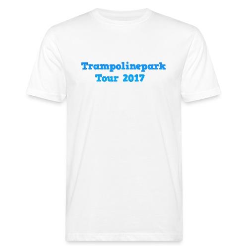 Trampolinepark Tour 2017 - Mannen Bio-T-shirt